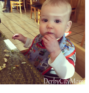 Little Man's first Thai.  He loved the satay chicken!